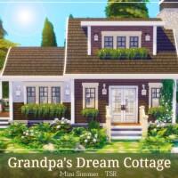 Grandpa Dream Cottage by Mini Simmer