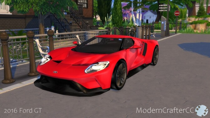 2016 Ford GT at Modern Crafter CC image 1523 670x377 Sims 4 Updates