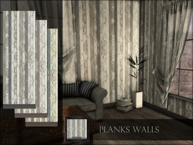 Planks Walls by RemusSirion