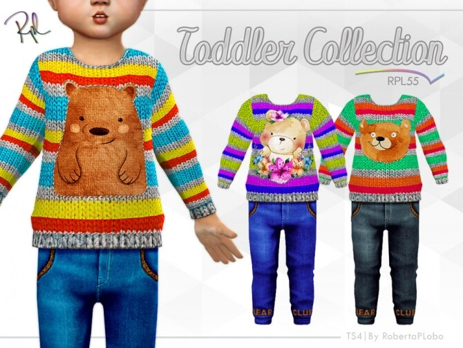 Sims 4 TODDLER Collection RPL55 by RobertaPLobo at TSR