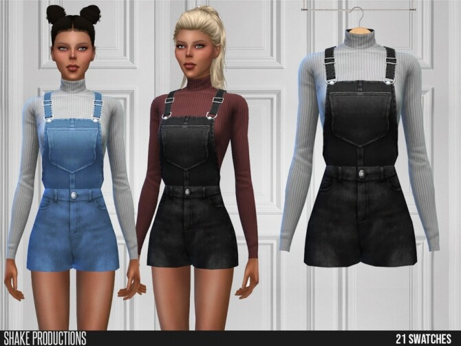 Sims 4 491 Farm Outfit by ShakeProductions at TSR