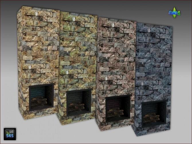 Sims 4 Fireplaces by Mabra at Arte Della Vita