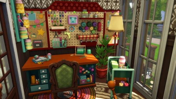 Sims 4 Grandparents Cozy Home by simbunnyRT at Mod The Sims