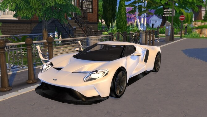 2016 Ford GT at Modern Crafter CC image 1583 670x377 Sims 4 Updates