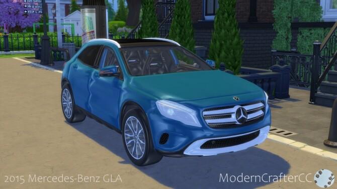 Sims 4 2015 Mercedes Benz GLA at Modern Crafter CC