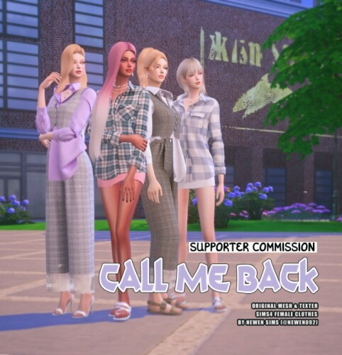 Call Me Back collection