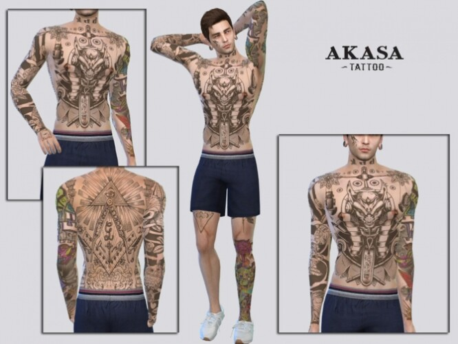 Akasa Tattoo by McLayneSims