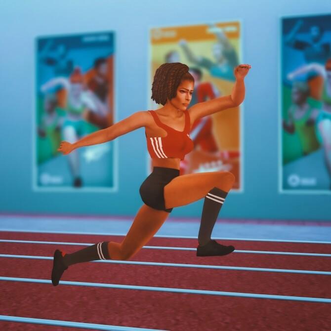 Long Jump Pose Pack at Katverse image 16111 670x670 Sims 4 Updates