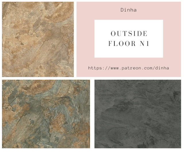 Outside Floor N1 3 Textures at Dinha Gamer image 1619 Sims 4 Updates