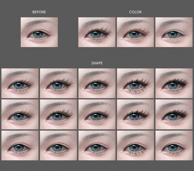 Eyelashes v4 at MMSIMS image 16210 670x590 Sims 4 Updates