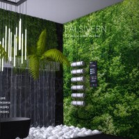 Falsivern Wall Mural by Networksims
