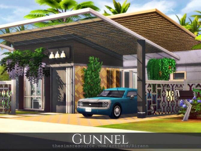 Sims 4 Gunnel home by Rirann at TSR