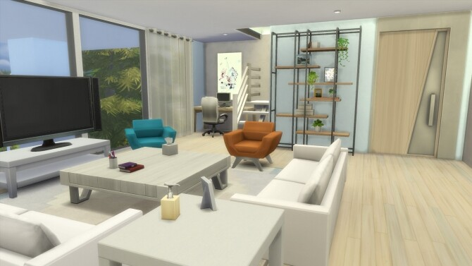 Sims 4 Modern Eco Living by RayanStar at Mod The Sims