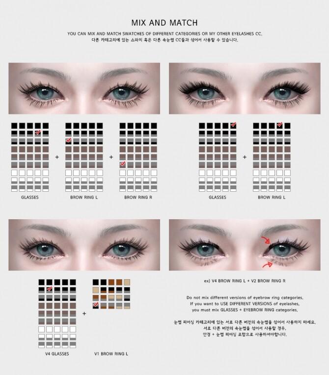 Eyelashes v4 at MMSIMS image 1638 670x763 Sims 4 Updates