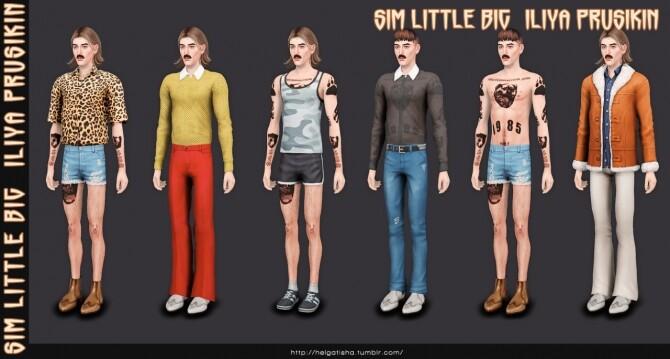 Sims 4 Iliya Prusikin & Little Big Tattoo at Helga Tisha