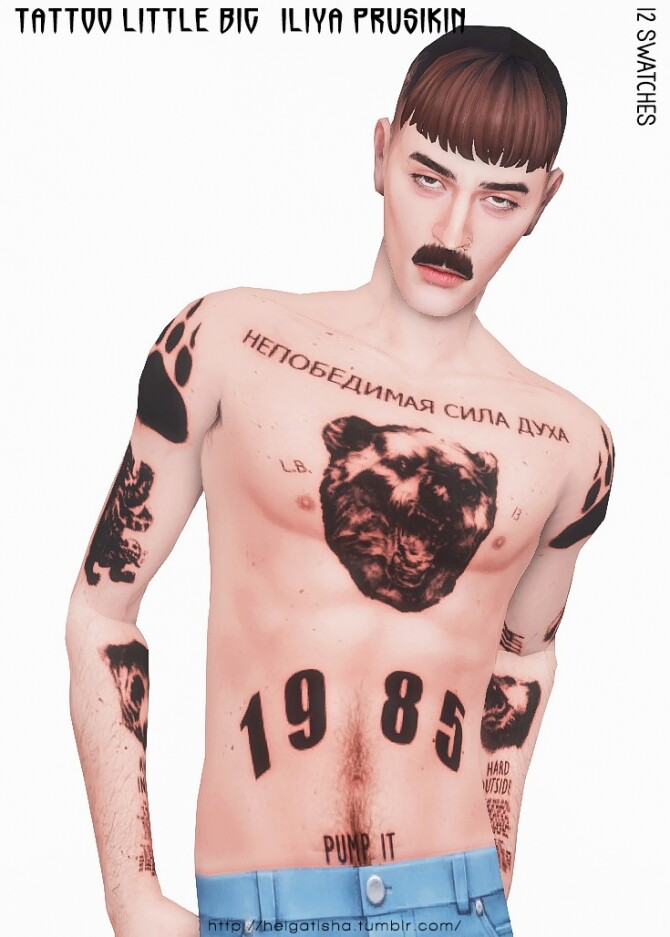 Iliya Prusikin & Little Big Tattoo at Helga Tisha image 1656 670x937 Sims 4 Updates