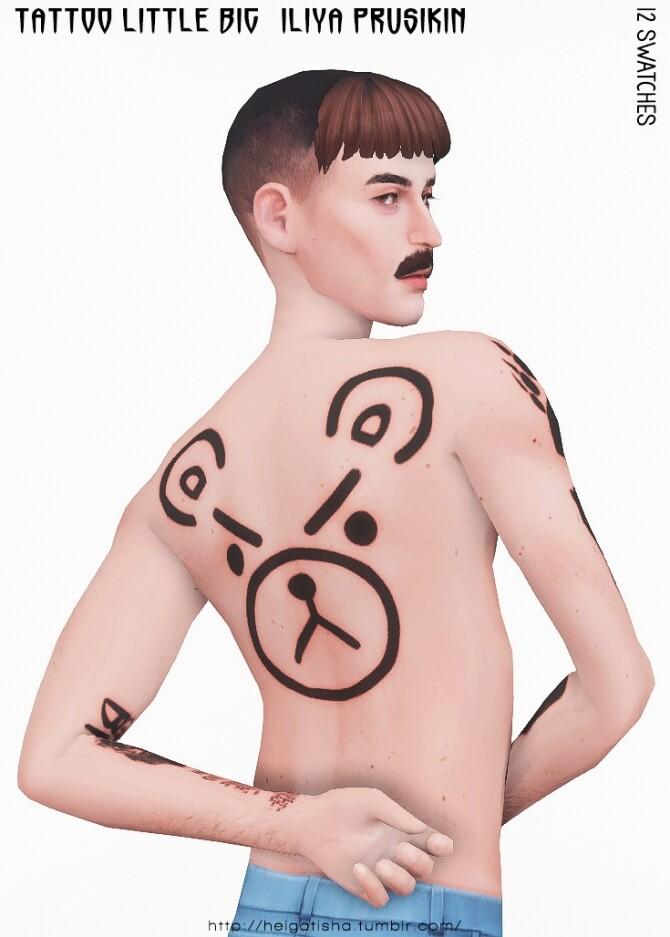Iliya Prusikin & Little Big Tattoo at Helga Tisha image 1665 670x937 Sims 4 Updates