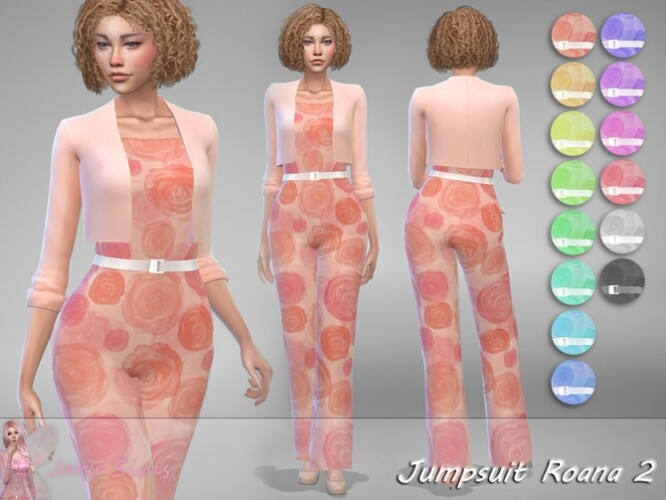 Jumpsuit Roana 2 by Jaru Sims
