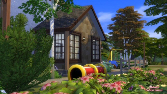 Sims 4 SCANDINAVIAN HOUSE at Sims by Mulena