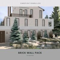 Brick wall pack