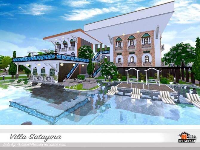 Sims 4 Villa Satayina by autaki at TSR