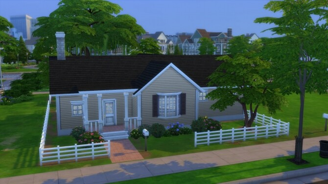 Sims 4 Cheap O Bungalow by RayanStar at Mod The Sims
