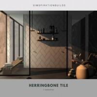 Herringbone tiles