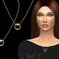 Horse bit necklace by NataliS