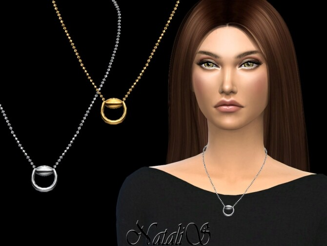 Horse bit necklace by NataliS at TSR image 1788 670x503 Sims 4 Updates
