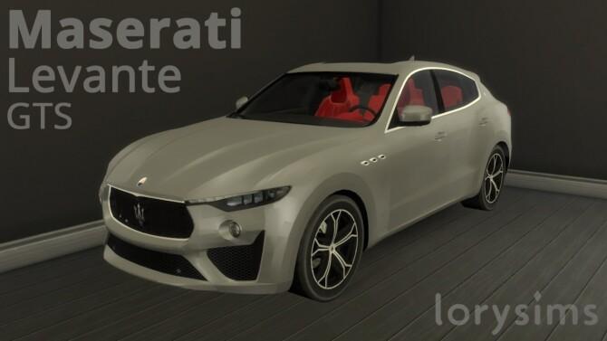 Sims 4 Maserati Levante GTS at LorySims