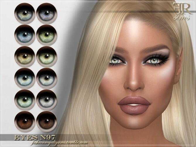 Sims 4 FRS Eyes N97 by FashionRoyaltySims at TSR
