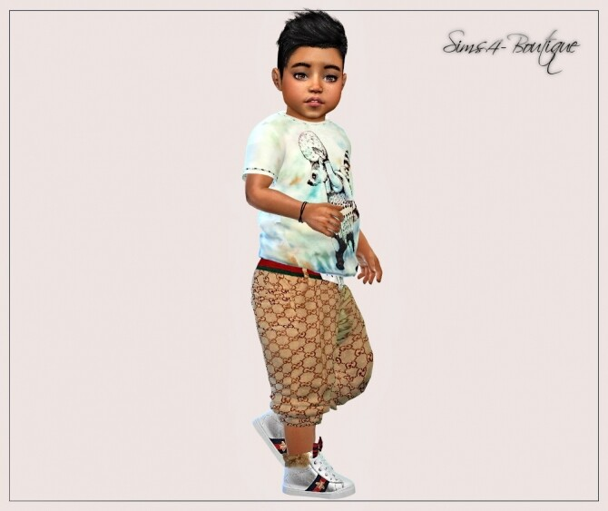 Designer Set for Toddler Boys 0908 at Sims4 Boutique image 1823 670x563 Sims 4 Updates