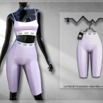 Clothes SET-79 LEGGINGs BD304 by busra-tr