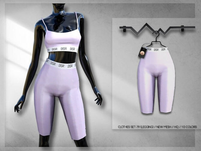 Sims 4 Clothes SET 79 LEGGINGs BD304 by busra tr at TSR