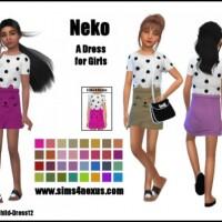 Neko dress for girls by SamanthaGump
