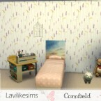 Cornfield wallpaper by lavilikesims