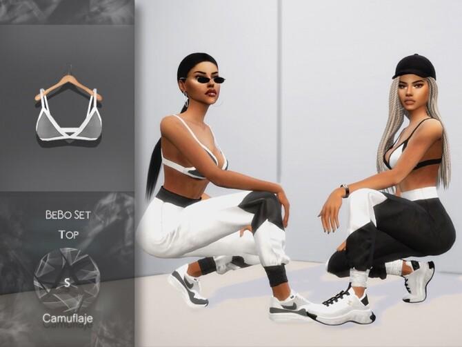 Sims 4 BeBo Set Top by Camuflaje at TSR