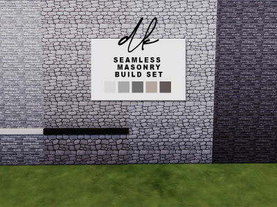 Seamless Masonry Build Set