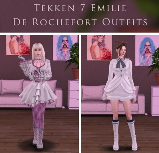 Tekken 7 Emilie De Rochefort Set