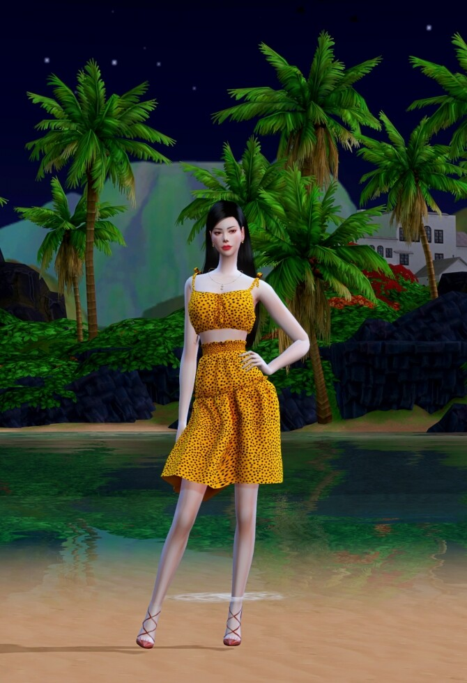 Frill Dress at Chaessi image 18910 670x981 Sims 4 Updates