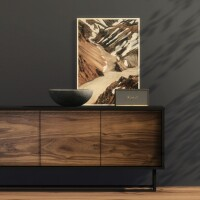 Take It Easy Sideboard Plywood Print