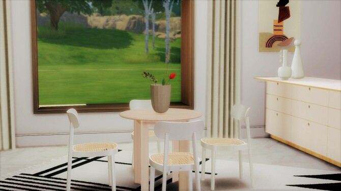 Sims 4 BEVEL TABLES COLLECTION at Meinkatz Creations