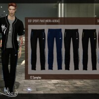 DSF SPORT PANT INDRA by DanSimsFantasy