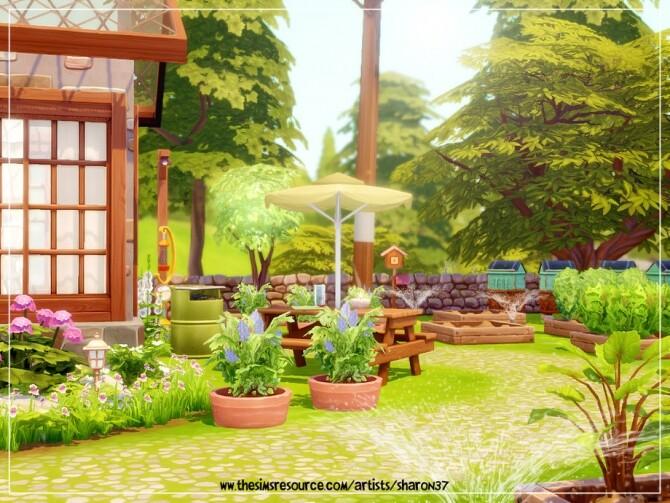 Sims 4 Tiny Farm Nocc by sharon337 at TSR