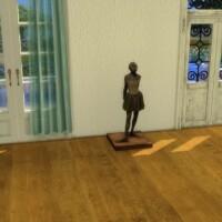 The Fourteen Year Old Dancer statue