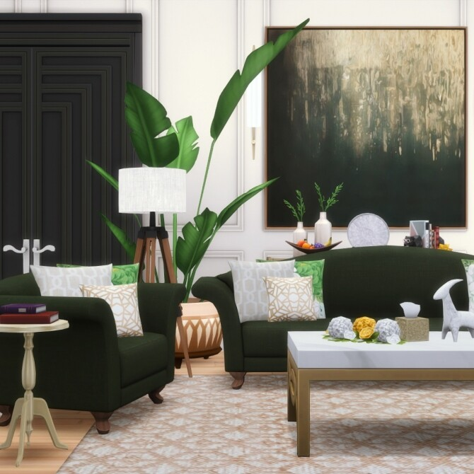 Sims 4 Eloise Camelback 4 New Seatings at Simsational Designs