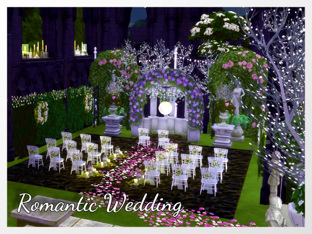 Romantic wedding venue by Oldbox