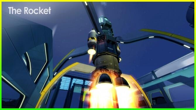 Sims 4 The Rocket at Kalino