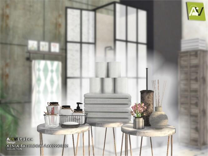 Xenia Bathroom Accessories by ArtVitalex