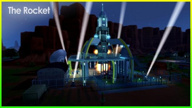 The Rocket at Kalino image 2013 670x377 Sims 4 Updates